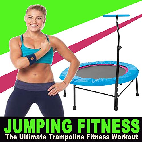 Jumping Fitness the Ultimate Trampoline Fitness Workout & DJ Mix (Screw Legs and Strong Bungees for All Levels!)