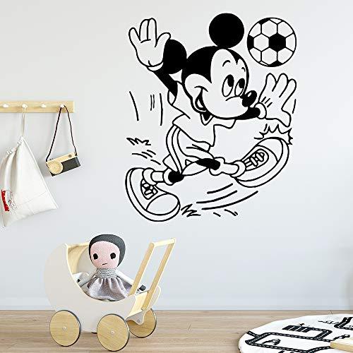 Sanzangtang Beauty voetbal waterdicht vinyl muursticker decoratie voor kinderkamer decoratie sticker sticker behang