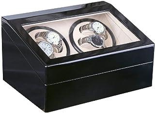 WATCH WINDER Luxury 4+6 Automatic Mechanical Black Watch Box High Class Motor Shaker Watch Winder Jewelry Holder Display W...