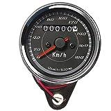 Tachimetro Contagiri 180 km/h Indicatore Benzina Multifunzione Moto Cafe Racer...