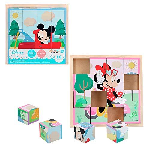 Disney - Rompecabezas de madera (48722)