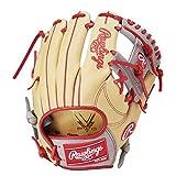 ローリングス(Rawlings) 野球用 軟式 HYPER TECH R2G COLORS [内野手用] サイズ11.25 GR1HTCK42 キャメル/グレー サイズ 11.25 ※右投用
