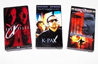 Sci-fi Video Collection #2: Starman; K-Pax; X-Files (3pk)