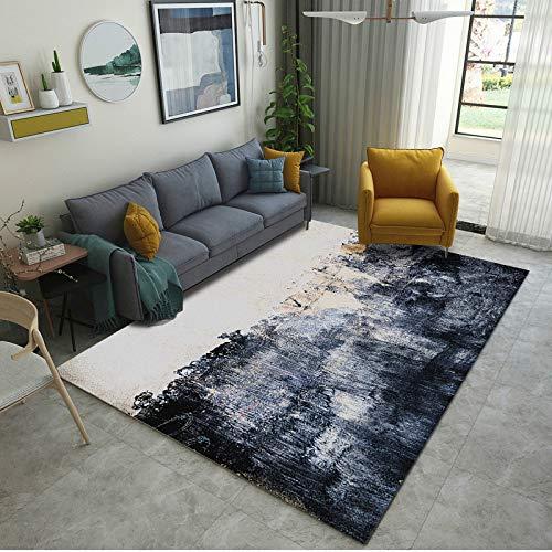 Round Ball Modern Retro Style Carpet Living Room Carpet Rug Carpet Comfortable Anti-Static Large Size Bedroom Bedside Mat 180X250CM
