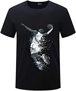 9f3f8a2e3b31e1 Men s Sport Fashion Black Mamba Kobe Classic Slam Dunk Memorial Black Short  Sleeved T-Shirt