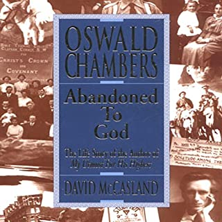 Oswald Chambers cover art