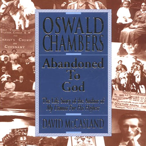 Oswald Chambers audiobook cover art