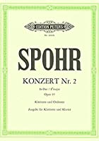 シュポーア: クラリネット協奏曲 第2番 変ホ長調 Op.57/ペータース社/クラリネットとピアノ