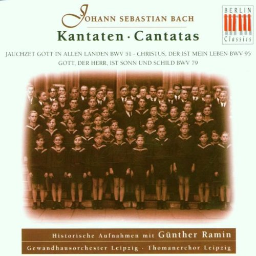 Günther Ramin, Bach Cantatas Part 8 (Kantaten Bwv 51, 95, 79)
