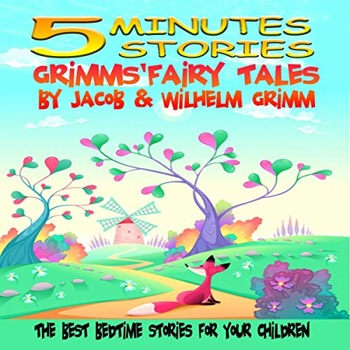 5 Minutes Stories: Grimms' Fairy Tales audiobook cover art