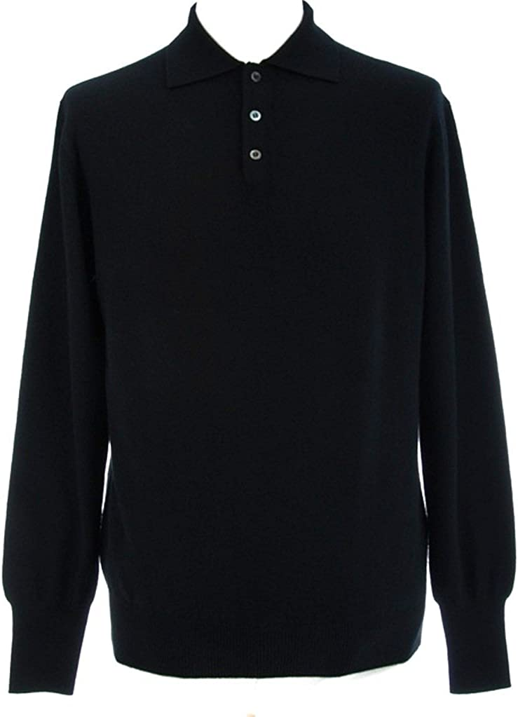 Indefinitely Shephe Men's Polo Discount is also underway Cashmere 3-Button with Sweater
