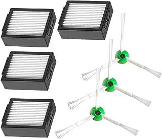 アクセサリ ルンバe5 i7 i7+ フィルター サイドブラシ ロボット掃除機 消耗品 7枚