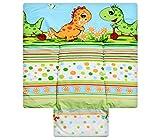 Best For Kids BESONDERE KUSCHELWEICHE Wickelauflage 100% Baumwolle Wickeltischauflage 3 in 1 in 3 Größe 70x70 mit Öko Tex Standart