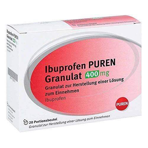 Ibuprofen Puren Granulat 400 mg, 20 St