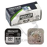 Pila Bateria 364 SR621SW 1.55V Pila Boton Oxido Plata