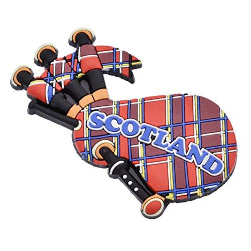 YNuth Imán para Nevera Escocia en Forma de Gaita