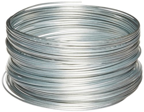 Ook 04527001297 50141 12 Gauge, 100ft Steel Galvanized Wire, 1 Pack, Multicolor, 100 Feet