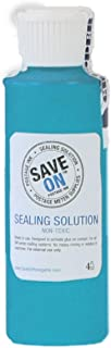 Save On Postage Ink - Sealing Solution Concentrate - Genuine Compatible Pitney Bowes E-Z Seal - Postage Meter Sealing Solution – Pack of 1 4 Oz. Bottle (Empty Gallon Jug Included) – Makes one Gallon o