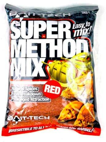 Bait-Tech Groundbait 2kg Super Method Mix Red
