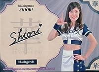 チアリーダー 2017華 直筆サイン SHIORI Bluelegends DANCING HEROINE プロ野球 埼玉西武ライオンズ