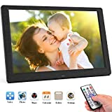 DIANOU 10.1 inch Digital Photo Frame 1080P High Resolution IPS Wide, Support USB