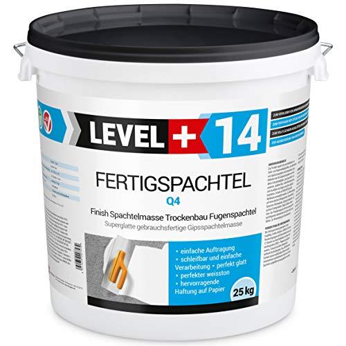 Fertigspachtel 25 kg Spachtelmasse Glättspachtel Fugenspachtel reinweiss Weiß RM14
