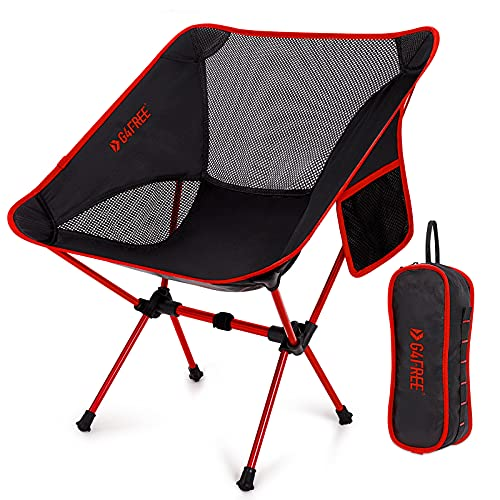 G4Free Upgraded Camping Chairs, Ultralight Portable Folding Chair Compact Heavy Duty with Carry Bag for Outdoor, Camp, Backpacking, Hiking, Picnic, BBQ (New Dark Blue)