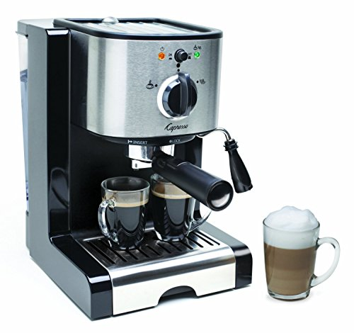 Capresso EC100 Semi Automatic Pump Espresso and Cappuccino Machine (Renewed)
