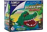Family Games- Gioco del Dentista con Coccodrillo, Multicolore, 37551, 19 X 16 X 10.5 cm