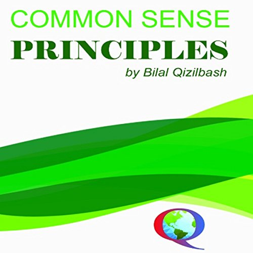 Common Sense Principles audiobook cover art