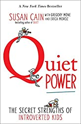 red q on white book cover quiet power