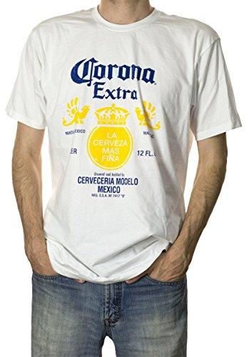 Calhoun Corona Extra-Flaschen-Aufkleber-T-Shirt Großes
