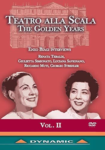 TEATRO ALLA SCALA: The Golden Years, Vol. 2 [DVD]