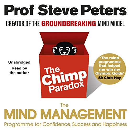 The Chimp Paradox audiobook cover art