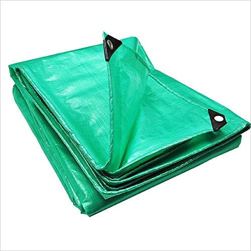 LQUIDE Lona Gruesa Lona Impermeable Protector Solar Tela Carro Carro toldo Tela Lona Lona 0.35mm -180g / m2 (tamaño: 6 * 6m)