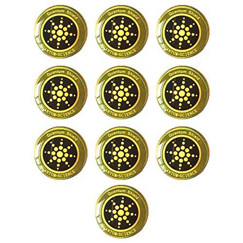 Timagebreze 10Pcs EMF Sticker Anti Radiation Cell Phone Sticker para TeléFonos Laptop y Todos los Dispositivos ElectróNicos