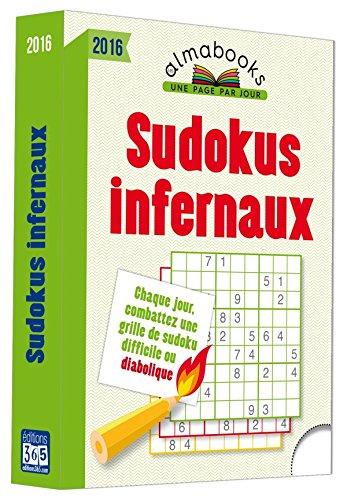 Almabook Sudokus infernaux 2016