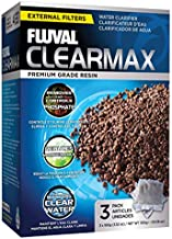 Fluval ClearMax Phosphate Remover, Chemical Filter Media for Aquariums, 100-gram Nylon Bags, 3-Pack, A1348