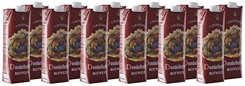 Domkellerstolz EG-Tafelwein Rot Tetrapack, 12er Pack (12 x 1 l)
