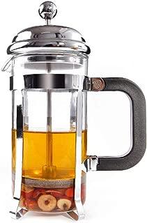 Foyun フレンチプレス コーヒーメーカー コーヒー プレス ステンレス 紅茶 珈琲 ミルクバブル 家の使用 できれいに簡単