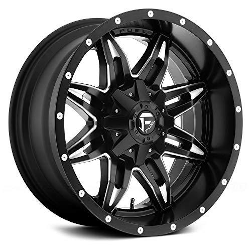 Fuel Offroad D567 Lethal 20x9 8x170 +1mm Black/Milled Wheel Rim