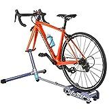 Allenatore di Bici Pieghevole Allenatore di Bici Indoor Supporto per rulli di Allenamento ...