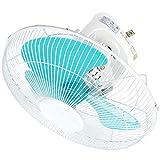 ZZHFS BBGS Ventilador eléctrico, Ventilador de Techo suspendido - Ventilador de Techo Shake Head Ventilador de Alta Potencia Blanco para el Dormitorio doméstico (Color : Blanco)
