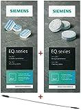SIEMENS TZ80001 10 pastillas de limpieza + 3 pastillas descalcificadoras para EQ Series