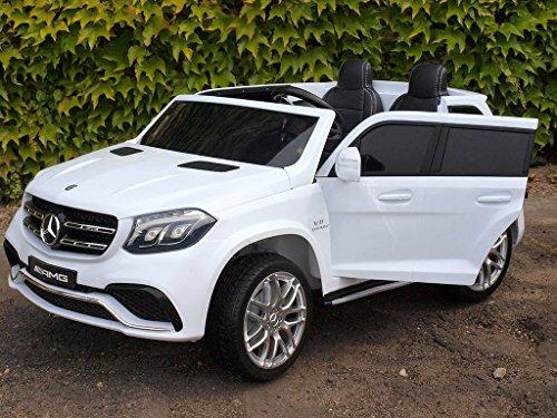 RC Kinderauto kaufen Kinderauto Bild 1: Allrad f 2 Kinder XXL Kinderelektroauto kinderauto Mercedes GLS 63 4x4 gefedert Zweisitzer Kinderelektrofahrzeug 12V Jeep Offroader*