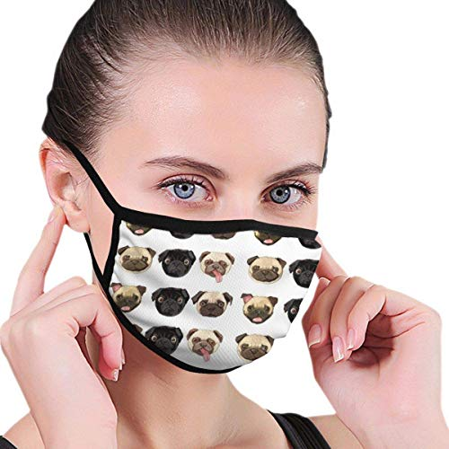 Mascarillas faciales lavables y reutilizables, para perros c