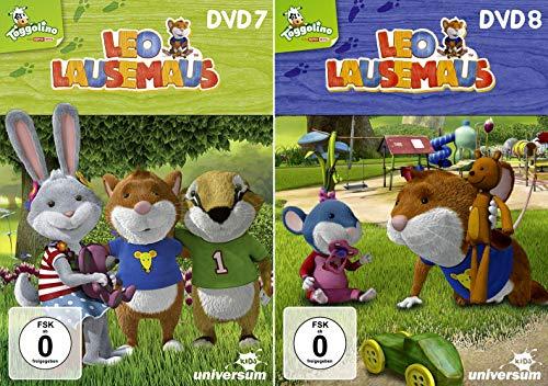 Leo Lausemaus DVD 7+8 im Set - Deutsche Originalware [2 DVDs]