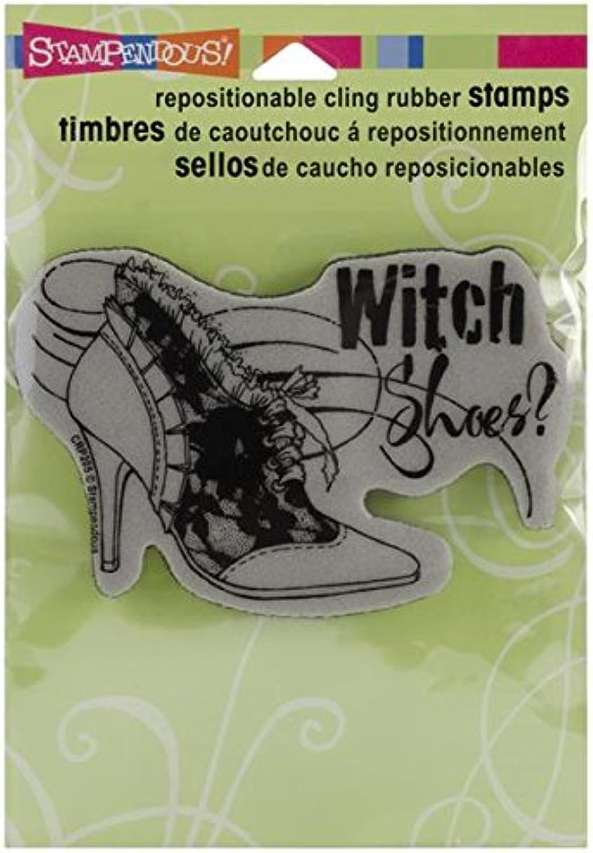 Stampendous Halloween Halloween Halloween Cling Rubber Stamp-Witch schuhe B00DTWFFKG | Am wirtschaftlichsten  a77064