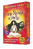 Lune Rouge - L' Oracle - 41 cartes. Messages de notre féminité sacrée