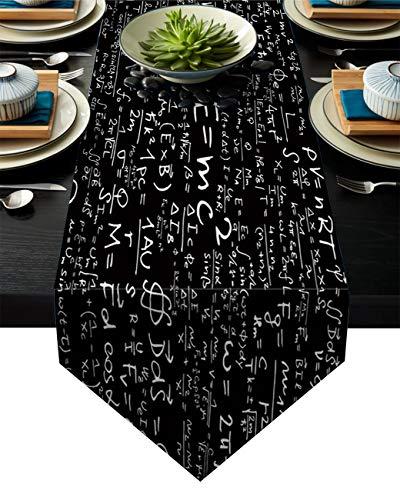 Linnen jute tafel loper dressoir sjaals 13 x 70 inch, vintage anker op schuur hout boerderij tafellopers voor feesten, eetkamer, thuiskeuken, bruiloft decoraties